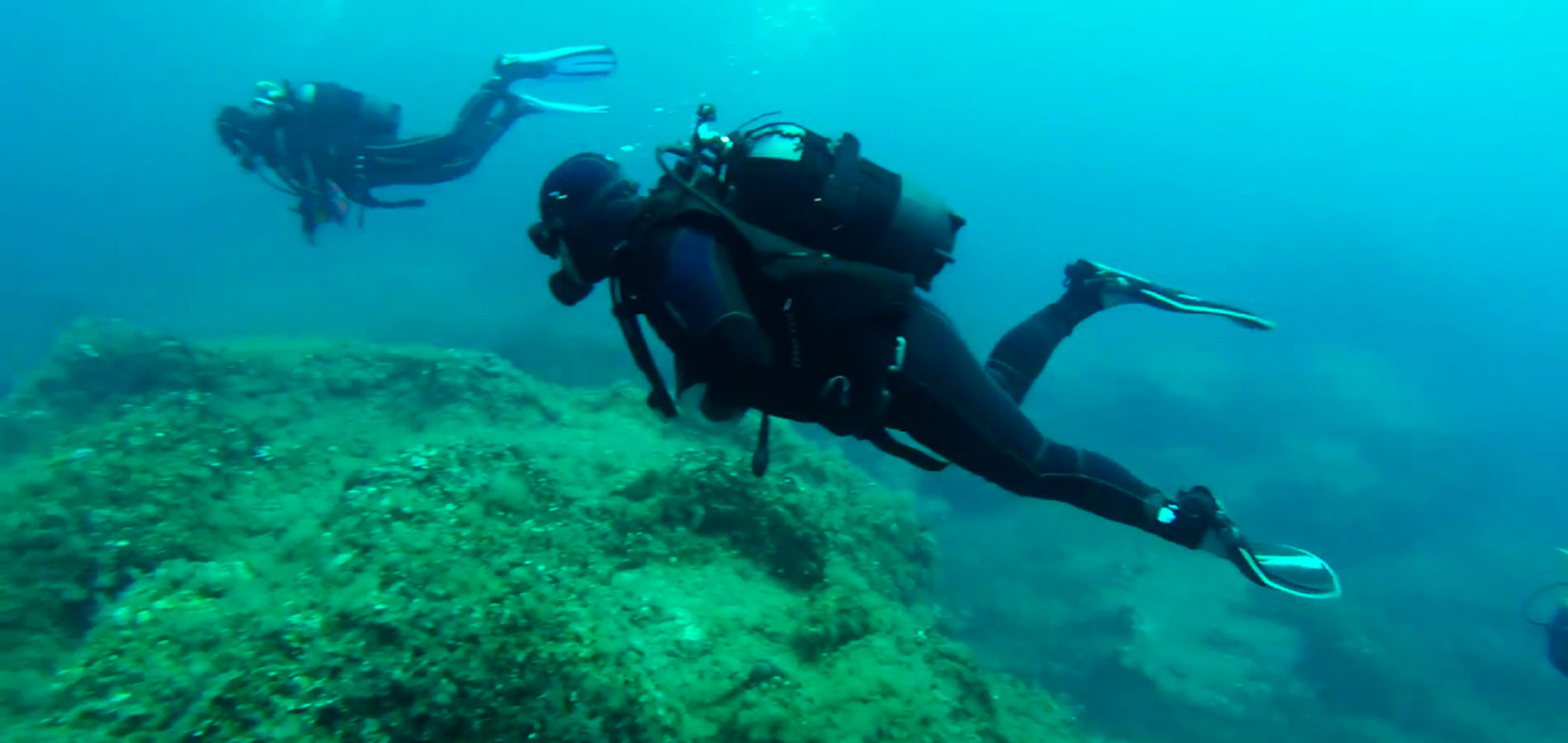 DIVING POINTS IN NORTH SARDINIA