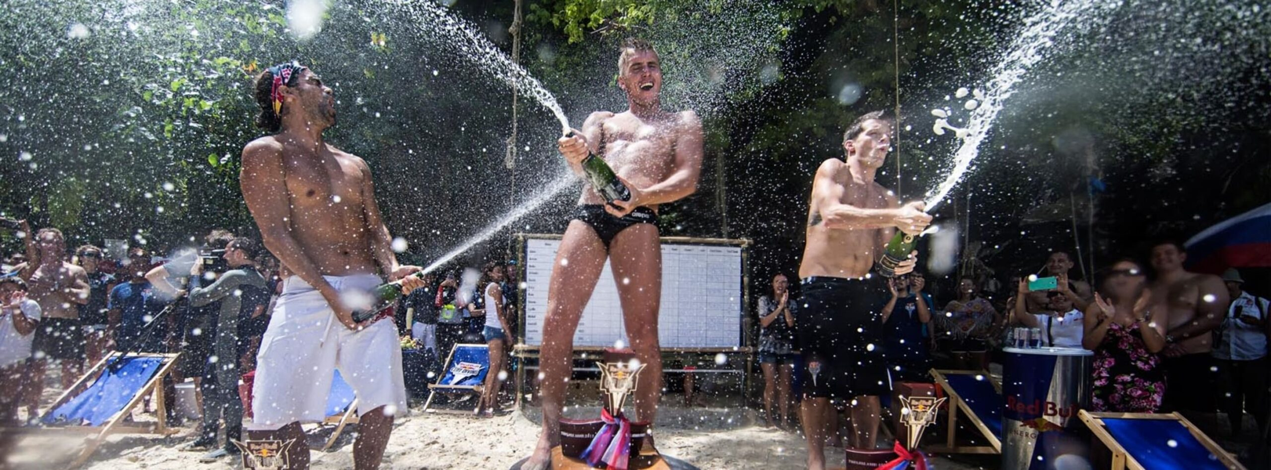 KRABI Red Bull Cliff Diving World Series champion.