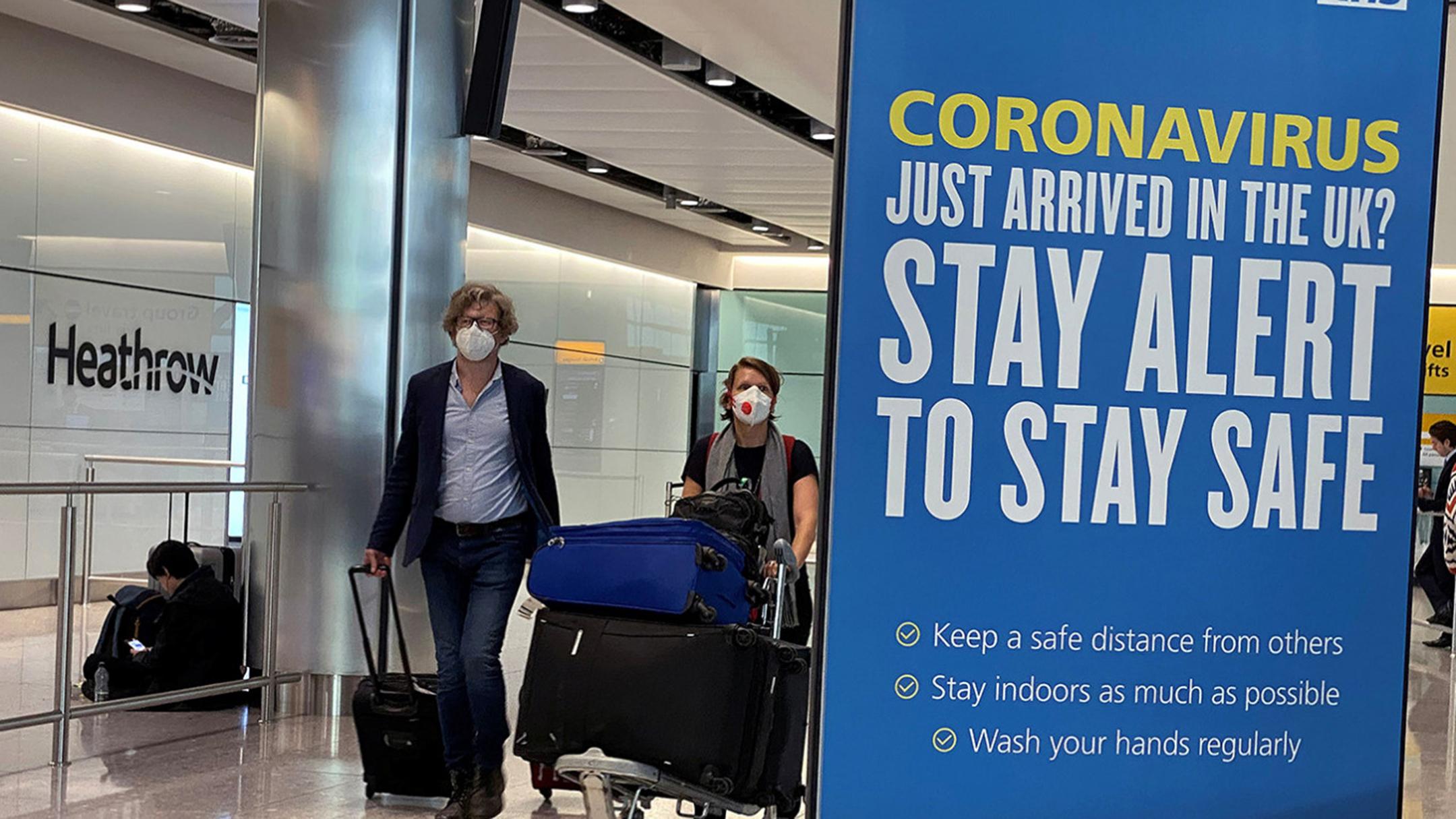UK – New traveladvisory