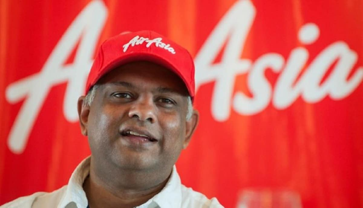 AirAsia boss Tony Fernandes apologises after Thai CEO hurls F-bomb at female colleague in online meeting